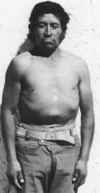 Adean Native man