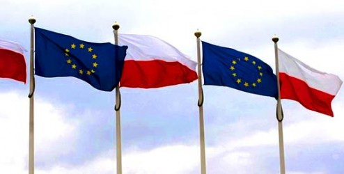 poland-eu-flags