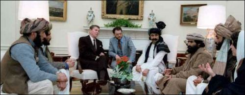 Morient2 Moudjahidines et Reagan